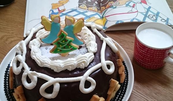 ぐりとぐらのクリスマスケーキ