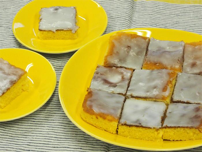 レモンケーキで使った道具達