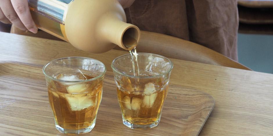 夏の疲れた胃に優しい水出しほうじ茶