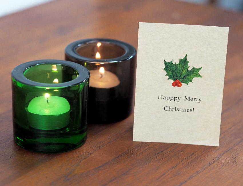 クリスマスカード ご用意しました ♪