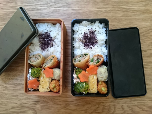 【プロキッチン別注】杉のお弁当箱×ジェルクール!