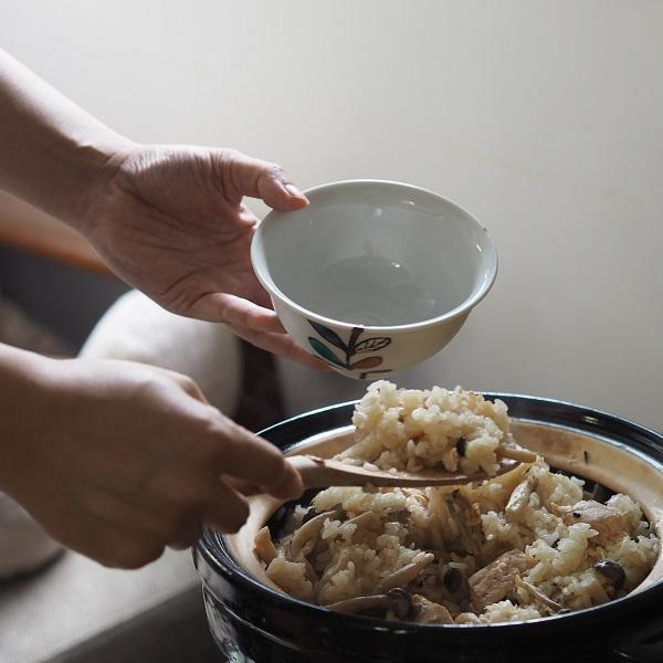秋の炊き込みご飯は長谷園のかまどさんで