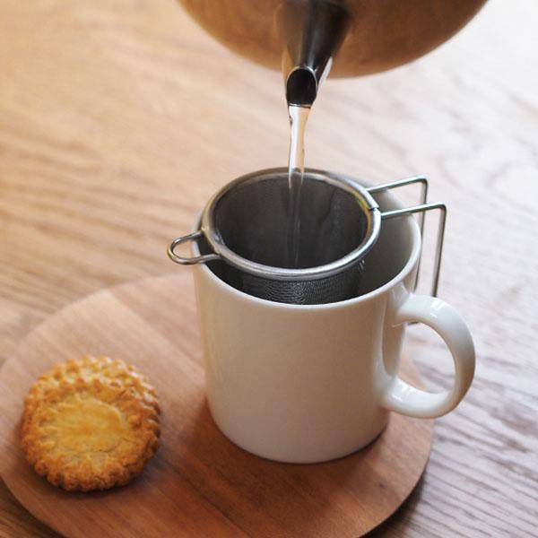 【実は人気なんです!】工房アイザワ 深型茶こし 小